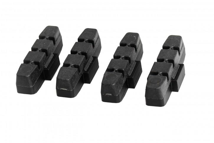 4 x Original Magura Bremsbeläge für HS 11 HS 33 66 22 24 schwarz Bremsklötze Belag