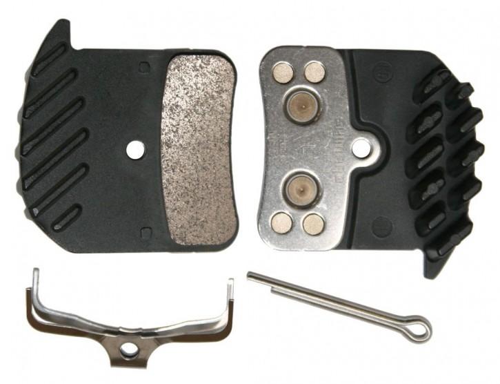 Shimano Bremsbeläge H03C Ice-Tech Metall mit Kühlrippen  SAINT ZEE