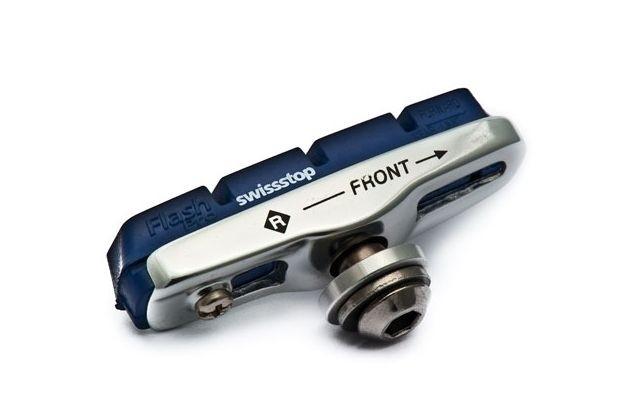 SwissStop Pro Flash BXP dunkelblau für Shimano + Campa