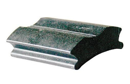 Bremsgummi Stempelbremse für Kabel und NSU-Bremsen, 44 mm lang, 28/33 mm breit