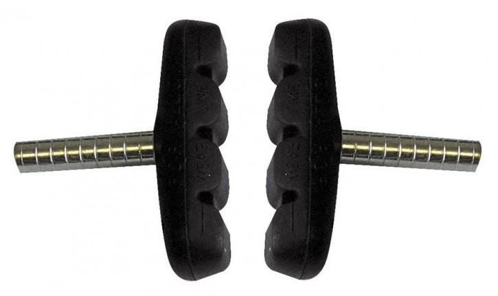 1 Paar Cantilever Bremsbeläge Bremsschuhe für Alu-Felgen Bremsschuh DIN-Prüfzertifikat