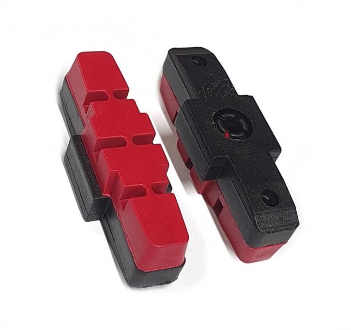 Bremsbeläge für Magura HS 11 und  HS 33 22 66 und 21 rot