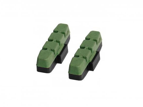 1 Paar  Original Magura Bremsbeläge für HS 11 HS 33 66 22 24 grün Bremsklötze Belag