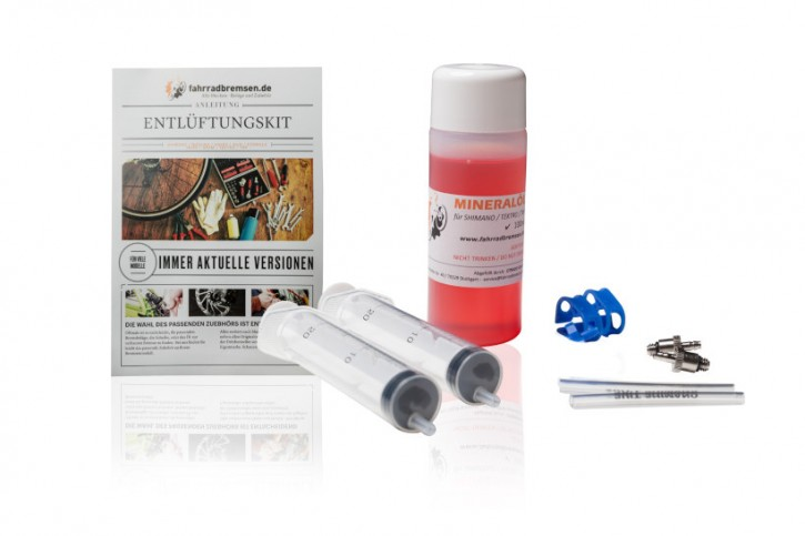 Entlüftungskit Service Kit für Tektro Scheibenbremsen inkl. 100ml Bremsflüssigkeit