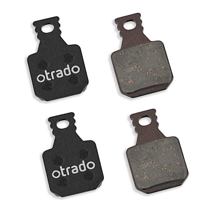 OTRADO Bremsbeläge organisch für Magura 8.R MT5 MT7 Scheibenbremse 4 Kolben