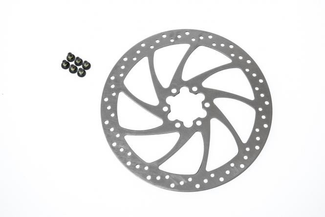 Original Magura Bremsscheibe 180 mm rund 6-Loch mit 6 Schrauben