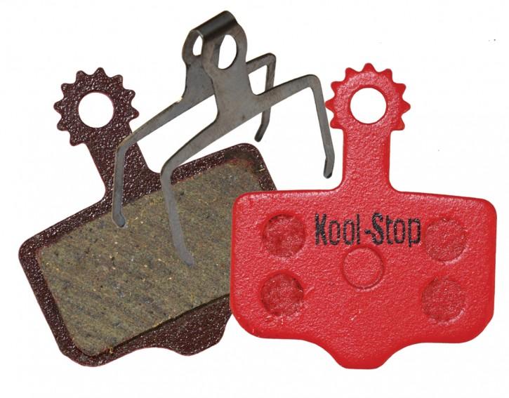 Kool-Stop Disc Bremsbeläge für AVID Elixir 1 3 5 7 XX XO CR R  SRAM XX KS-D296
