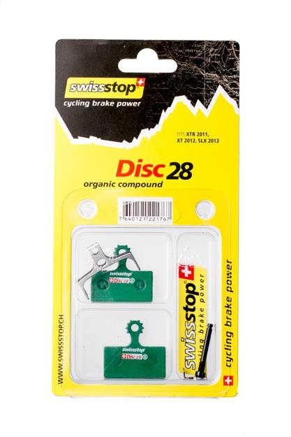 SwissStop Disc 28 Bremsbeläge für SHIMANO SLX XT XTR FSA und Rever