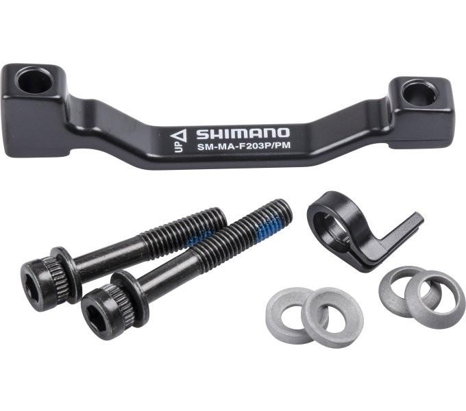 Shimano Adapter 203 mm für Bremssattel -PM auf PM E-SMMAF203PPM
