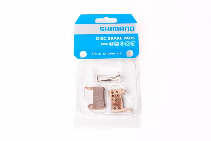 Shimano M06 Metall Bremsbeläge für XTR XT SLX LX Deore