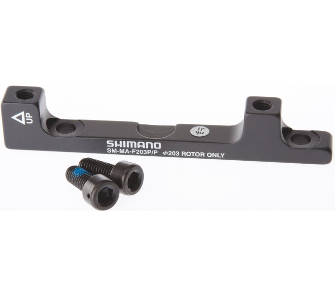 Shimano Adapter 203 mm für Bremssattel -PM auf PM I-SMMAF203PPA