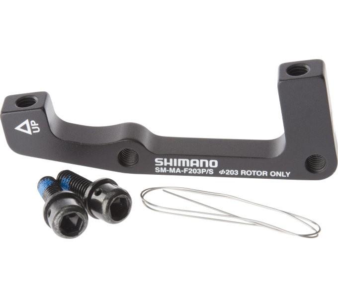 Shimano Adapter 203 mm für Bremssattel Vorne -PM auf IS I-SMMAF203PSA
