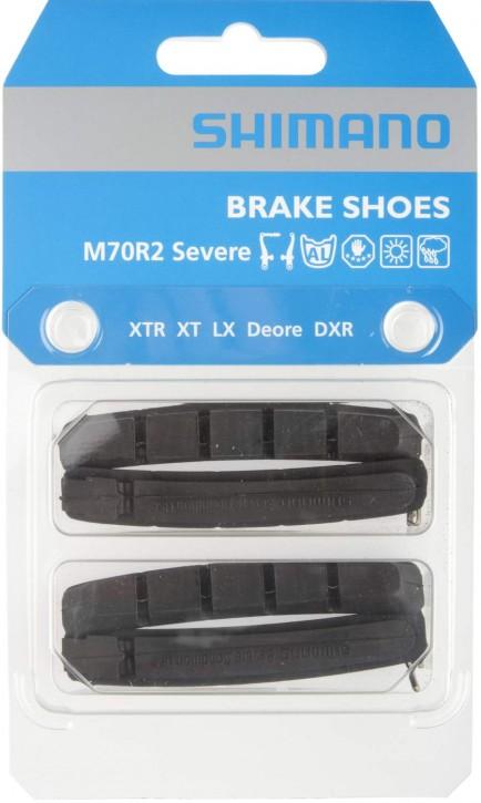 Shimano Bremsbeläge M70R2 Felgenbremsbeläge für XTR XT LX Deore V-Brake