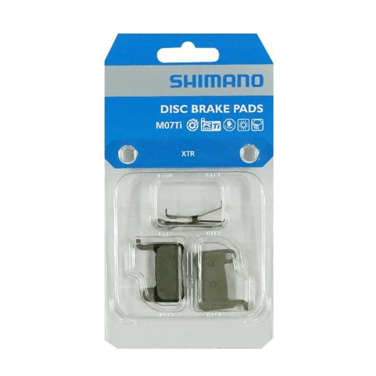 Shimano M07Ti Bremsbeläge für Scheibenbremse XTR XT