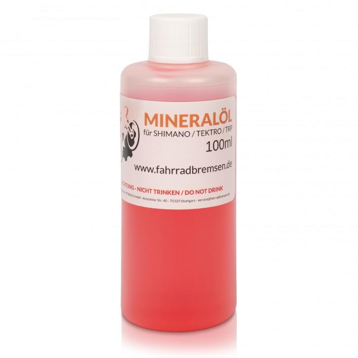 Mineralöl 100ml für Shimano Bremsen - Fahrrad Hydrauliköl