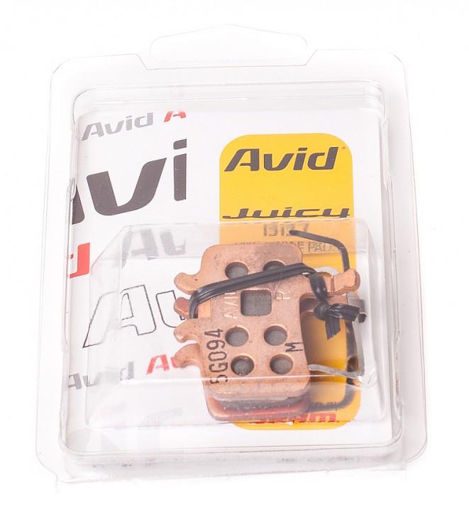 Original AVID Bremsbeläge gesintert für Juicy 3 5 7 BB7 Carbon Ultimate