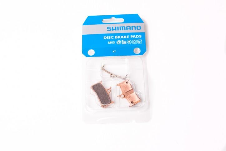 Shimano Disc Bremsbeläge M03 Metall  XT BR-M755