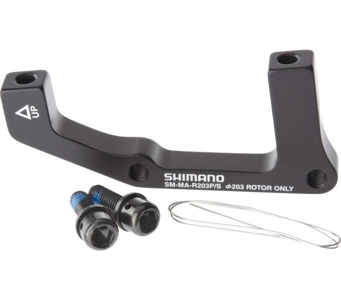 Shimano Adapter 203 mm für Bremssattel Hinten -PM auf IS I-SMMAR203PSA