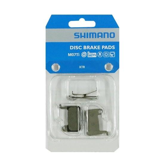 Shimano M07Ti Resin Titan Bremsbeläge für Scheibenbremse XTR XT SLX