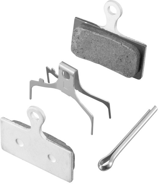Shimano G02A Bremsbeläge ALU für XTR XT SLX ALFINE BR-M987, BR-M985, BR-M785, BR-M675, BR-M666, BR-S700, BR-R785