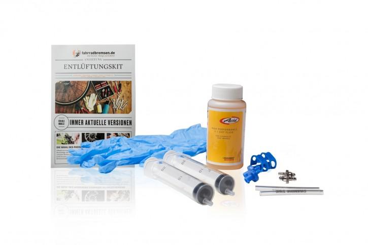 Entlüftungskit Service Kit für Avid Scheibenbremsen inkl. 120 ml Avid Bremsflüssigkeit